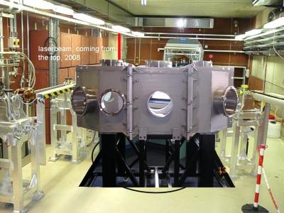Ultra-high vacuum interaction chamber